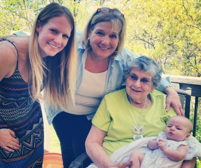 E's Great-Grandma on her Mom's maternal side.