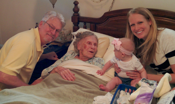 E's Great-Grandma on her Mom's paternal side.
