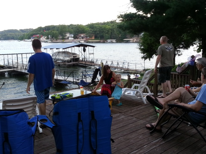 We had people over Friday night for BBQ and fireworks. We had a blast!