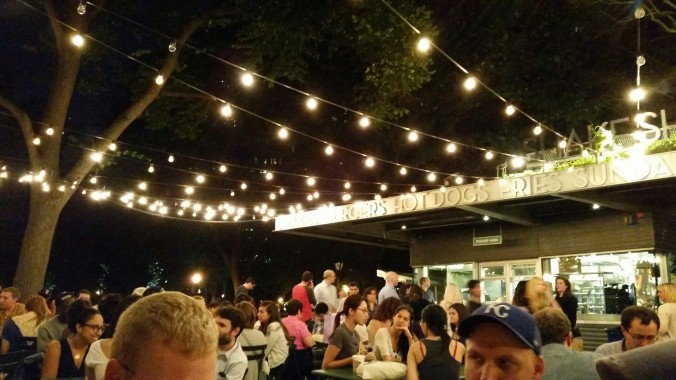 And the night ended with a trip to the Shake Shack.