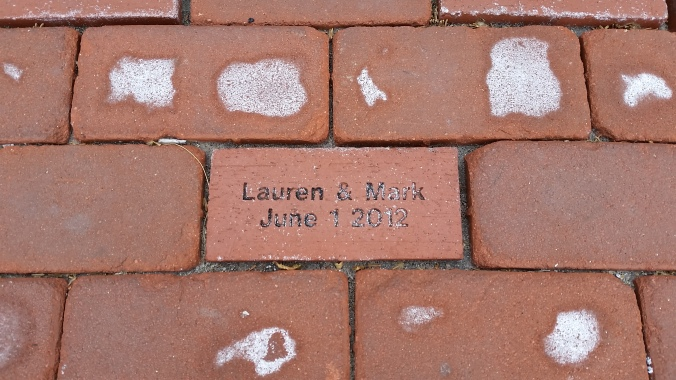 Our brick outside of Californos